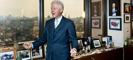 Former President Bill Clinton has a 'jobs blueprint' to help put Americans back to work. (photo: Andrew Hetherington/Newsweek)