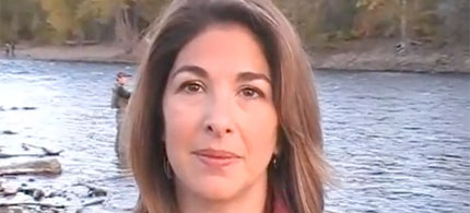 Author, journalist Naomi Klein reporting from Alberta, Canada.