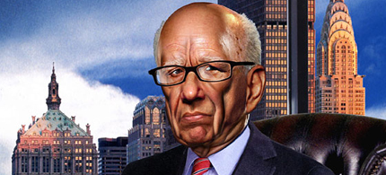 Rupert Murdoch. (illustration: Eddie Guy/New York Magazine)