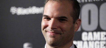 Matt Taibbi at Skylight Studio in New York, 10/27/10. (photo: Neilson Barnard/Getty Images)