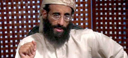 Anwar al-Awlaki speaks in a video message Nov. 8, 2010 released by SITE Intelligence Group. (photo: AP)