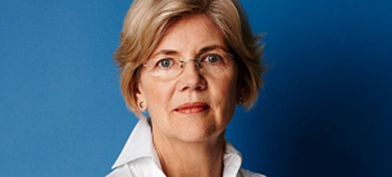 Consumer advocate and Senate hopeful Elizabeth Warren. (photo: Nigel Parry/Vanity Fair)