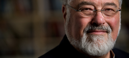 Portrait, George Lakoff. (photo: Bart Nagel)