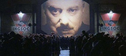 A scene from director Michael Radford's version of Orwell's classic novel - 1984. (photo: MGM Studios Inc.), From ImagesAttr