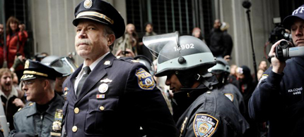 Retired Philadelphia Police Captain Ray Lewis was arrested during a peaceful Occupy Wall Street protest, 11/17/11. (photo: OWS)