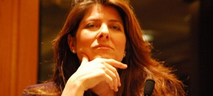 Naomi Wolf, speaking at  the National Lawyers Guild Forum in New York, 01/23/09. (photo: Thomas Good/NLN)