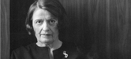 Ayn Rand's influence spans 60 years, with Alan Greenspan, Ronald Reagan, Sen. Ron Johnson (R-WI) and Rep. Paul Ryan (R-WI) among her notable acolytes and devotees. (photo: Barnes and Noble Review)