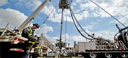 Officials said Saturday they believe the latest earthquake activity in northeast Ohio is related to hydrofracking. (photo: Adam Fenster/Reuters)