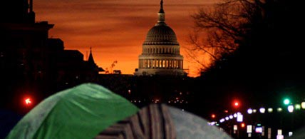 Occupy DC has been given marching orders by the US Park Police. (photo: Scott Galindez/RSN)
