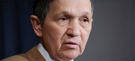 Rep. Dennis Kucinich (D-Ohio). (photo: AFP)