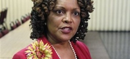 Oklahoma state Sen. Constance Johnson, 08/17/11. (photo: AP)