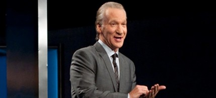 Bill Maher during last season's finale broadcast, 11/11/11. (photo: Janet Van Ham/HBP/AP)