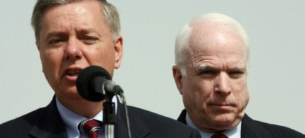 Senators Lindsey Graham and John McCain. (photo: The Conservative Treehouse)