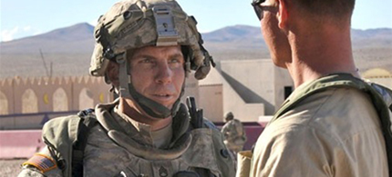 Staff Sgt. Robert Bales (left), the American soldier who went on a shooting spree killing 16 Afghan civilians, including nine children, in Kandahar villages. (photo: DoD)