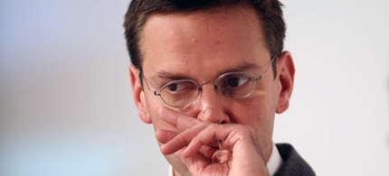James Murdoch has resigned as chief executive and chairman at BSkyB. (photo: Miguel Villagran/Getty Images)