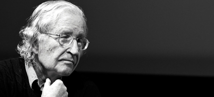 Noam Chomsky comments on the attacks against public education. (photo: MIT)