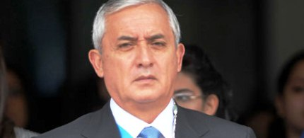 Guatemala's President Otto Perez Molina believes a new approach to Latin America's war on drugs is urgently needed. (photo: Johan Ordonez/AFP/Getty Images)
