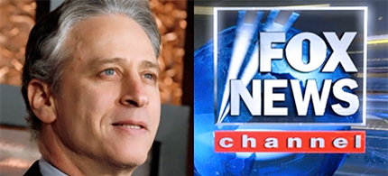 Jon Stewart was correct in saying that Fox News viewers are the most misinformed. (photo: AtlanticWire)