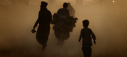 Smog in Kabul. (image: FRE/RL)