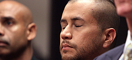 George Zimmerman appeared in court in Sanford, Florida. (photo: pool)