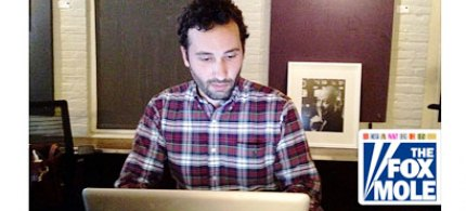 Gawker's Fox mole Joe Muto, who described the grim working conditions at the network and leaked footage of Sean Hannity. (photo: Gawker)