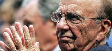 Rupert Murdoch's Fox News is in danger of becoming a part of the NewsCorp phone-hacking scandal. (photo: Reuters)