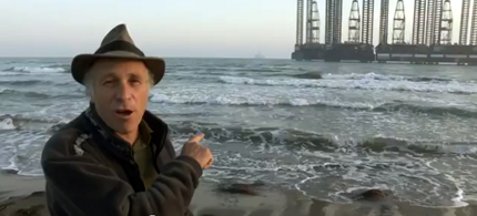 Greg Palast uncovers the story of another BP oil rig blow out. (photo: Greg Palast)