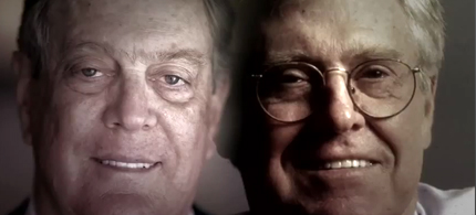 Screen grab of the Koch Brothers from Robert Greenwald's 'Koch Brothers Exposed.' (photo: Robert Greenwald, Brave New Films)