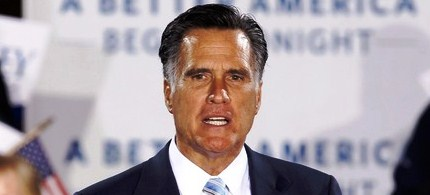 Mitt Romney addresses supporters during a campaign rally, 04/24/12. (photo: Getty Images)