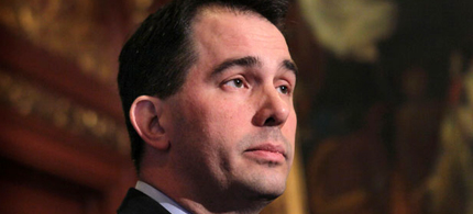 Wisconsin Governor Scott Walker. (photo: Getty Images)