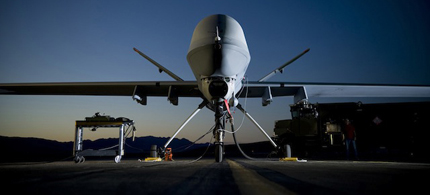 This drone may have collected data on you. (photo: US Air Force)