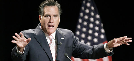 Mitt Romney. (photo: AP)