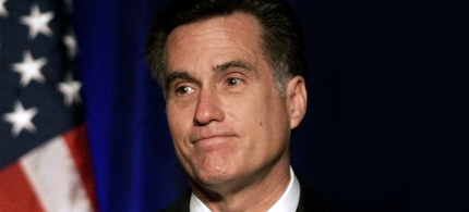 Mitt Romney. (photo: Getty Images)
