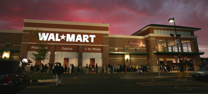 Walmart is the 18th corporation to drop out of ALEC. (photo: PR Watch)