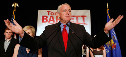 Milwaukee Mayor Tom Barrett. (photo: Politico)