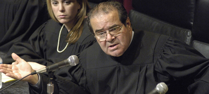 Supreme Court Justice Antonin Scalia. (photo: AP)