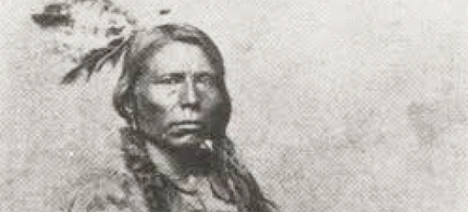 Crazy Horse, or Tashunkewitko, was born on the southern part of the Cheyenne River in around 1842. (photo: attributed by some to be Tashunkewitko/Crazy Horse/public domain)