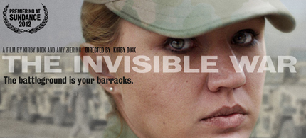 'The Invisible War' exposes the epidemic of rape in the military. (photo: invisiblewarmovie.com)