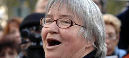 Human Rights Attorney Lynne Stewart is serving 10 years in prison. (photo: ChannerTV)