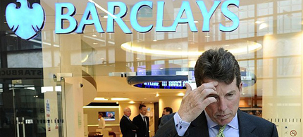 Barclays former-President Robert Diamond was the first to fall, will members of the British government be next. (photo: Dylan Martinez/Reuters)