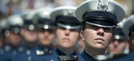 Air Force Academy Cadets. (photo: Defense Dept./Navy Petty Officer 1st Class Chad J. McNeeley)