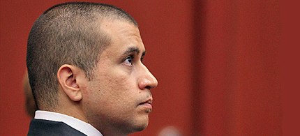 George Zimmerman was released on a one million dollar bond. (photo: Gary W. Green/EPA)