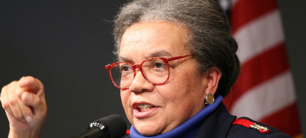 Marian Wright-Edelman, founder of the Children's Defense Fund. (photo: David McNew/Reuters)