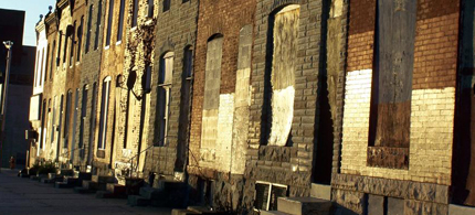 Thousands of vacant houses in Baltimore's most blighted neighborhoods should be opportunities for job training and employment for hundreds of young adults wanting to change their lives. (photo: Open Door Baltimore)