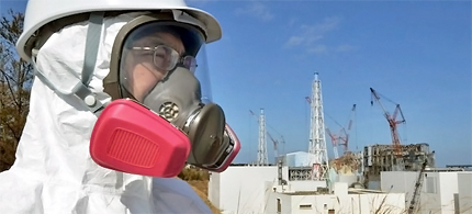 High dose: A subcontractor at the Fukushima nuclear plant reportedly told its employees to hide how much radiation they were exposed to. (photo: AP)