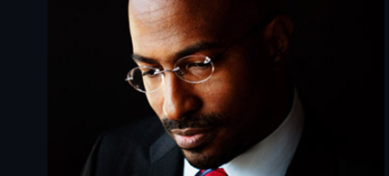 Van Jones' new book, 'Rebuild the Dream,' calls for a new progressive coalition. (photo: Daryl Peveto/Time)
