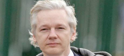 Julian Assange, the WikiLeaks founder faces extradition to Sweden. (photo: Independent UK)