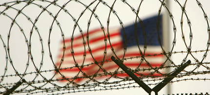 Guantanamo barbed wire. (photo: Reuters)