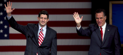 Mitt Romney is expected to name Rep. Paul Ryan as his running mate. (photo: Getty Images)