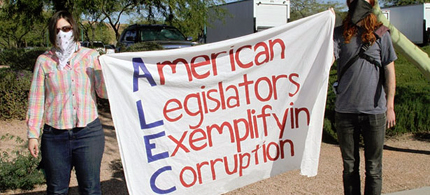 The American Legislative Exchange Council, ALEC, has been under heat. (photo: flickr)
